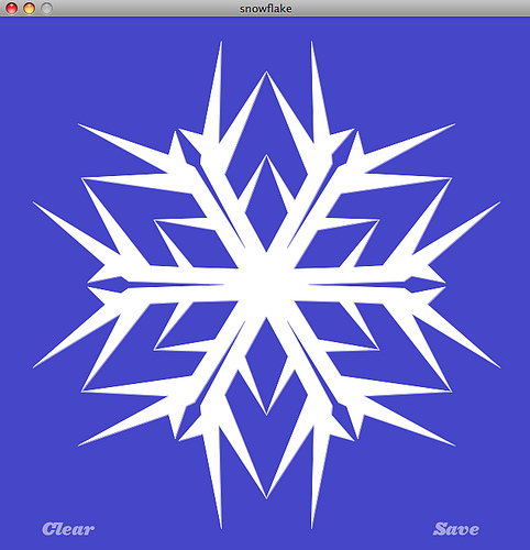 Option 1) Lasercut, Laser engrave, and LED-light-up your very own Snowflake